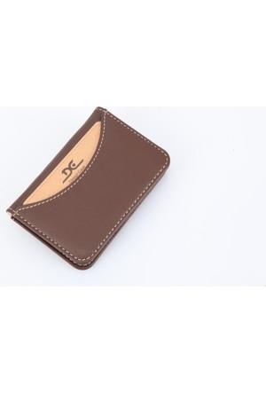 Dc Deri Kredi Kartlık Kahverengi