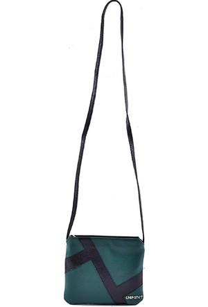 Gabastet Cüzdan Çanta Yeşil Siyah