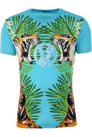 Versace Jeans Erkek T-Shirt B3Gpb74436609