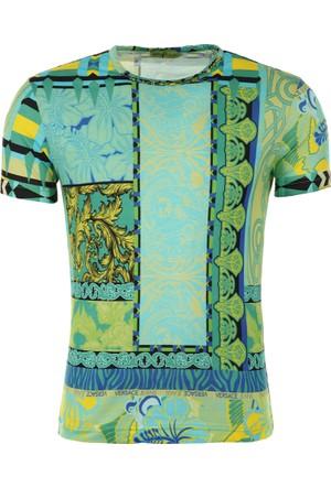 Versace Jeans Erkek T-Shirt B3Gpb7S0S0039