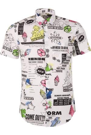 Kenzo Erkek Gömlek F755Ch5001Kd