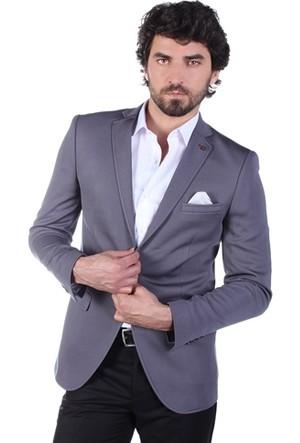 Brango 30029 Slim Fit Zara Desen Ceket