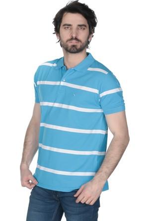 Brango 12465 Klasik Orta Çizgili T-Shirt