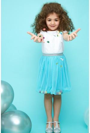 FullaModa Kız Çocuk Dantelli Body 17Y17AKKU0053300
