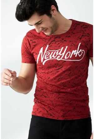 FullaModa Baskılı T-Shirt 17Y17DMRBRAND0004302