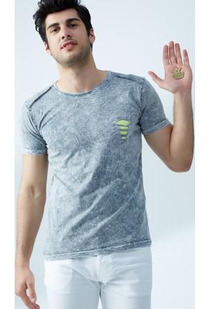 FullaModa Yıkamalı T-Shirt 17Y17SAI000312