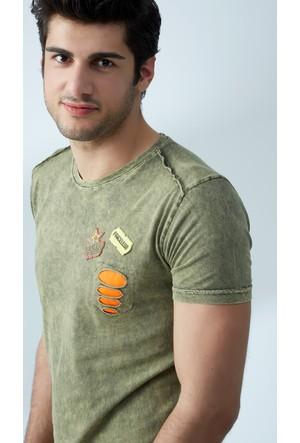FullaModa Yıkamalı T-Shirt 17Y17SAI0003313