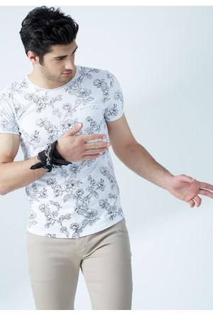 FullaModa Desenli T-Shirt 17YRETRO0002300