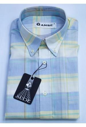 Anse Erkek Gömlek Kısa Kollu Cepli 3