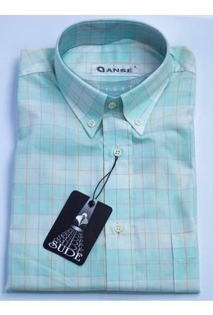 Anse Erkek Gömlek Kısa Kollu Cepli 6