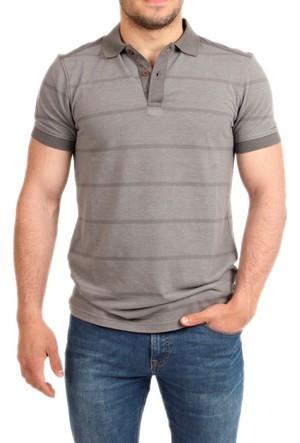 Cazador Polo Yaka Erkek T-Shirt Füme 4157