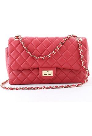 Biggi 355 Kadın Postacı Çanta Kırmızı