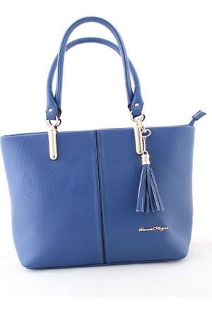 LacontMeyzi 730 Kadın Omuz Çantası Mavi