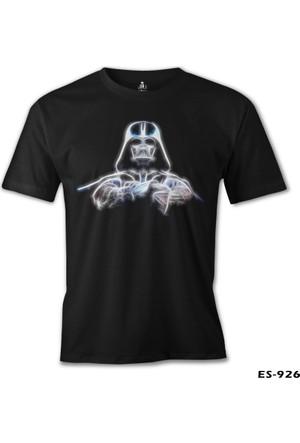 Lord T-shirt Star Wars Starlight Siyah Erkek T-Shirt