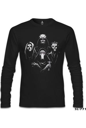 Lord T-shirt Star Wars Kings Siyah Erkek Sweatshirt