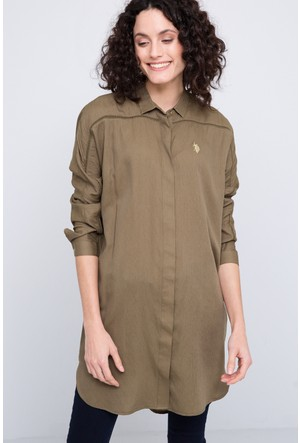 U.S. Polo Assn. Segin Kadın Dokuma Elbise