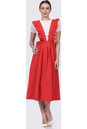 İroni Nar Salopet Elbise