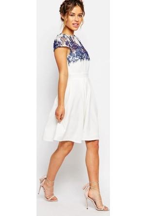 Virtual Beyaz Elbise