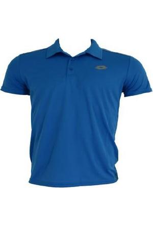 Lotto Enzo Polo Yaka T-Shirt 7211 Mavi Erkek Tekstil