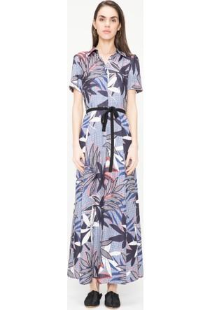 Just Like You 033 Çiçek Desen Elbise