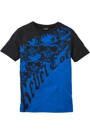 Bonprix Rainbow Mavi T-Shirt 34-54 Beden