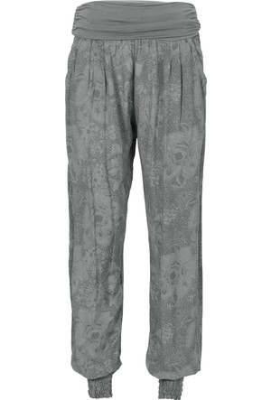 Bodyflirt Yeşil Baskılı Pantolon