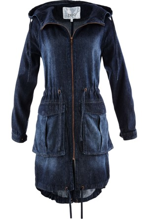Bpc Bonprix Collection - Mavi Jean Parka