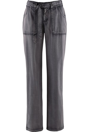Bpc Bonprix Collection Kadın Gri Streç Kargo Pantolon