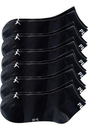 Puma Erkek Siyah Kısa Çorap (6Li Pakette)