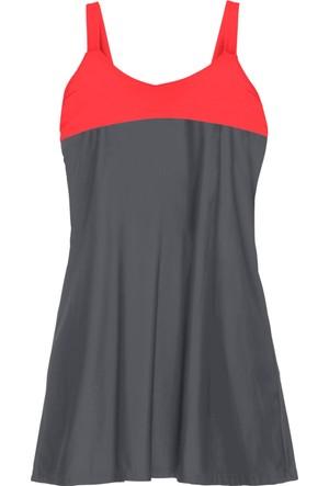Bpc Bonprix Collection Kadın Gri Elbise Mayo