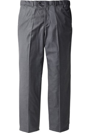Bpc Selection Erkek Gri Pantolon Regular Fit Straight