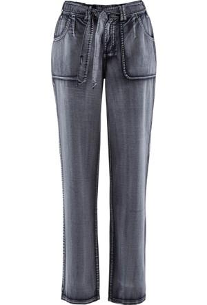 Bpc Bonprix Collection Kadın Siyah Streç Kargo Pantolon