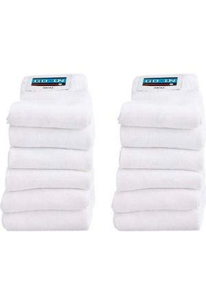 Bonprix Erkek Beyaz Go In Spor Çorabı (12Li Pakette)