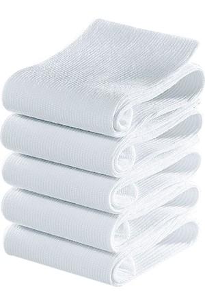 Bonprix Erkek Beyaz Go In Çorap (5Li Pakette)