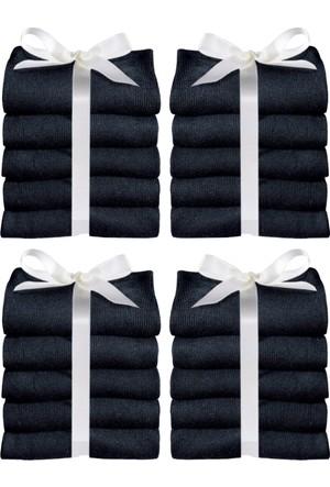 Bonprix Kadın Siyah Go In Çorabı (20Li Pakette)