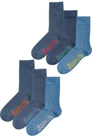 Bonprix Bench Mavi Bench Çorap (6Lı Pakette)