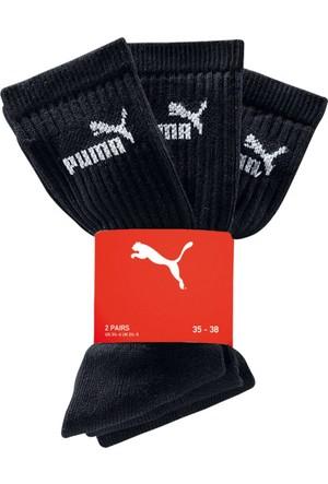 Puma Erkek Siyah Spor Çorabı (3Lü Pakette)