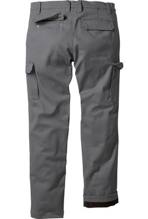 Bpc Bonprix Collection Erkek Gri Termo Kargo Pantolon Regualar Fit Straight