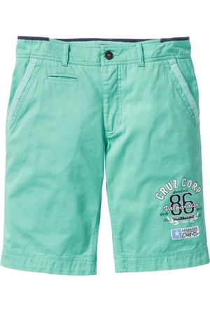 Bpc Selection Erkek Yeşil Chino Bermuda Regular Fit