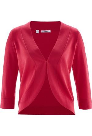 Bpc Bonprix Collection Kadın Kırmızı Örgü Bolero