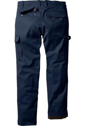 Bpc Bonprix Collection Erkek Mavi Termo Kargo Pantolon Regualar Fit Straight