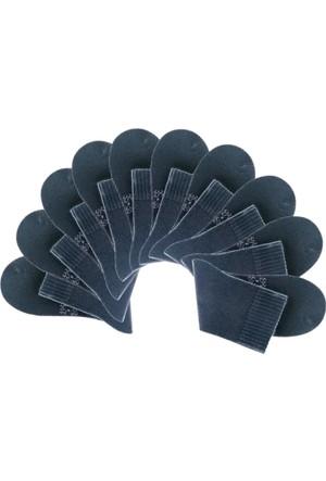 Bonprix Kadın Siyah Big Box Kısa Çorabı (10Lu Pakette)