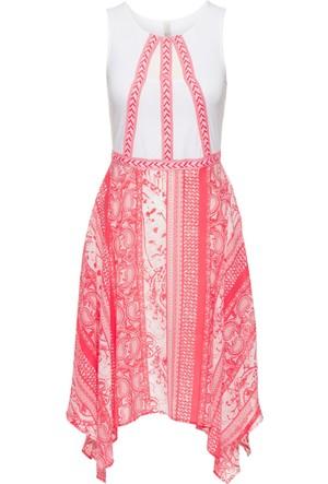 Bodyflirt Boutique - Pembe Cut-Out Detaylı Yazlık Elbise