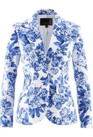 Bpc Selection Kadın Mavi Blazer Ceket