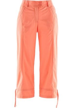 Bpc Bonprix Collection Kadın Turuncu Bel Kısmı Rahat Pantolon