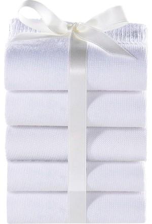 Bonprix Kadın Beyaz Go In Çorabı (5Li Pakette)