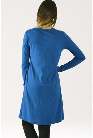 Modamla Cool Baskı Uzun Tunik