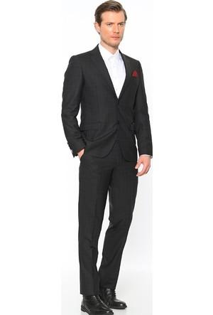 Comienzo Altınyıldız Pera Mono Yaka Kareli Takım Elbise 10730