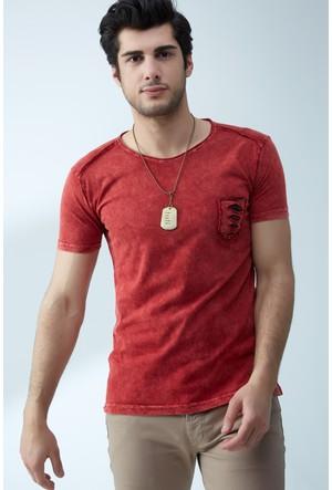 FullaModa Yıkamalı T-Shirt 17Y17SAI0002302