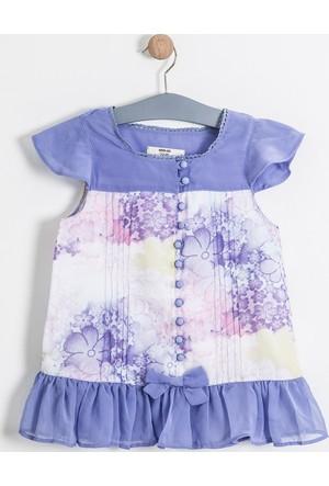 Soobe Monets Garden Kolsuz Fiyonklu Bluz 15YKGBLZ1841_14-3612
